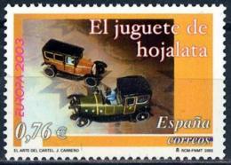 España. Spain. 2003. EUROPA Cept - 2001-10 Nuevos & Fijasellos