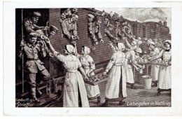 Soldaten - Liebesgaben Im Weltkrieg - Rotes Kreuz - Zugg - Landau Pf. 1914 H. Strieffler - Beelitz 19-4-16 - Weltkrieg 1914-18