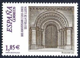 España. Spain. 2003. 800 Años De La Seo Antigua De Lleida - 2001-10 Nuevos & Fijasellos