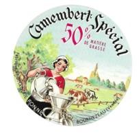 ETIQUETTE De FROMAGE. CAMEMBERT Fabriqué Fromagerie FONNE à BOURNEZEAU ( Vendée 85) - Cheese