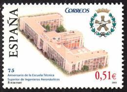España. Spain. 2003. Escuela Tecnica Superior De Ingenieros Aeronauticos - 2001-10 Nuevos & Fijasellos