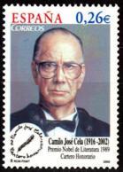 España. Spain. 2003. Camilo Jose Cela - 2001-10 Nuevos & Fijasellos