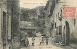 69 - COURZIEU -  ENTREE DU VILLAGE - Francia