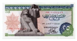 EGYPT»25 PIATRES»1976»P-47 (WORLD PAPER MONEY)»ABOUT UNC CONDITION - Egitto