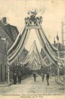 69 - TARARE - FETE GYMNIQUE DES 29 ET 30 JUIN 1912 - DECORATION DE LA VILLE - Tarare