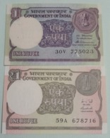 1989 + 2015..... India Inde Notes.. - Indien