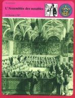 L' Assemblée Des Notables. Premier Pas Vers La Révolution. Louis XVI. Calonne. 18e Siècle. 1901. - Histoire