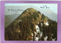01 LE CRET DE CHALAM  ( écrit : CRET DE CHALAME ) Altitude  1548 M Et Les Monts Jura - Non Classés