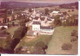 SAINT-PEVER - Le Bourg  - Cliché Aérien Original - Avant Tirage - Archive COMBIER (vers 1965) - UNIQUE - France