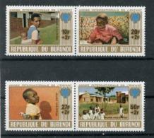 Burundi 1979  IYC AIE  Du Bloc   MNH - Childhood & Youth