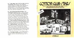 CD N°2403 - COTTON CLUB STARS - COMPILATION 23 TITRES - Jazz