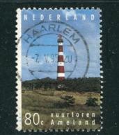 PAYS-BAS- Y&T N°1487- Oblitéré (phare) - Lighthouses