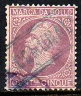 12006 Itália Selo Fiscal Marca Da Bollo 5 Cent. U (22) - Italy