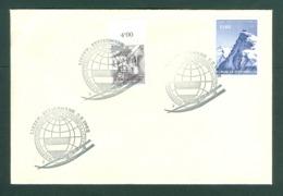 Austria. Cover 1962. European Luge Championships Liezen-Steiermark. Scott# 618A+666. - 1945-.... 2. Republik