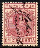 12007 Itália Selo Fiscal Marca Da Bollo 50 Cent. U (26) - Italy