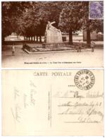 77 - BRAY-SUR-SEINE - Le Tapis Vert Et Monument Aux Morts - Bray Sur Seine