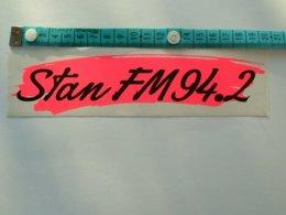 AUTOCOLLANT RADIO STAN FM 94.2 - Aufkleber