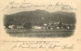 01 - ENVIRONS D'AMBERIEU - SAINT GRMAIN ET LES RUINES DU CHATEAU - France