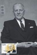 3.12.2013  -  Pierre Werner ( 1913-2002 ) Homme D'état Luxembourgeois - Cartes Maximum