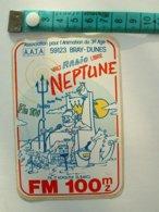 AUTOCOLLANT RADIO NEPTUNE - Pegatinas
