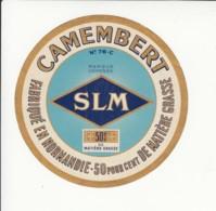 Etiquette De Fromage Camembert - Seine Maritime. - Cheese