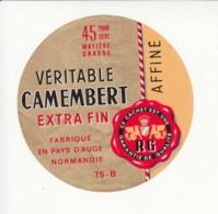 Etiquette De Fromage Camembert - Cheese