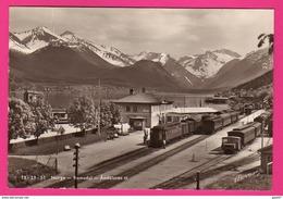 CP (Ref: Z 2093)NORGE ROMSDAL - ANDALSNES ST (NORVÈGE) Gare Avec Train - Norvegia