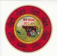 Etiquette De Fromage - Pianet - Poligny - Jura. - Cheese