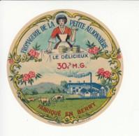 Etiquette De Fromage - La Petite Aujonnière - Berry. - Cheese