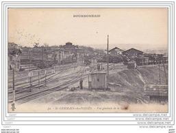 """Réf  Z0.230 (  Dép  03 )   à   ST- GERMAIN-des-FOSSES  """"""""  Vue Générale De La Gare """" - Non Classés"""