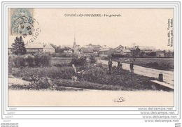 """Cpa - Réf Z0.325 ( Dép 08 )      à    CONDE-LES-VOUZIERS     """""""" Vue Générale - Francia"""