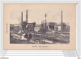 """Cpa - Réf Z0.302   ( Dép  54 )      à  POMPEY              """""""" Usine Et  La Gare - France"""