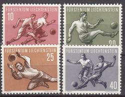 Football / Soccer / Fussball - WM 1954: Liechtenstein  4 W ** - Fußball-Weltmeisterschaft