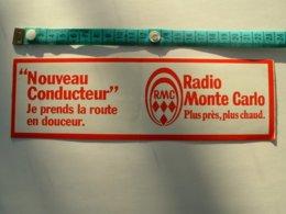AUTOCOLLANT RADIO MONTE CARLO - Aufkleber