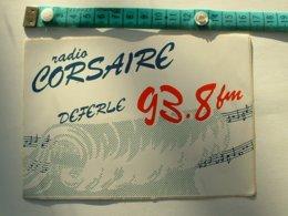 AUTOCOLLANT RADIO CORSAIRE - Pegatinas