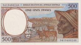 500 Fr  L  UNC - West African States