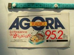 AUTOCOLLANT RADIO AGORA - Autocollants