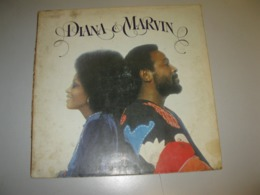 """VINYLE DIANA ROSS AND MARVIN GAYE """"DIANA & MARVIN"""" 33 T MOTOWN / EMI (1973) - Non Classificati"""