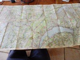 1940 Carte Michelin N° 70 : Limites --> BEAUNE-DÔLE-MORTEAU-NEUCHÂTEL-BERN-SION-ST-MAURICE-OYONNAX-MACON-BUXY-etc - Geographische Kaarten