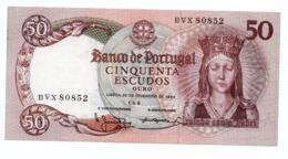 PORTUGAL»50 ESCUDOS»1964»P-168 (WORLD PAPER MONEY)»UNC - Portogallo