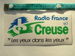 AUTOCOLLANT RADIO FRANCE CREUSE - Autocollants
