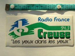 AUTOCOLLANT RADIO FRANCE CREUSE - Aufkleber