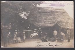 "CPA -   MALI, "" MISSION DE GIRONCOURT ""   -  Carte Photo - Mali"
