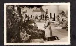 Photo Hoffmann Nr O21, Kanzler In Der Ostmark 1938, Leonding Am Elterngrab - Briefe U. Dokumente