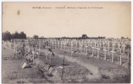 ROYE Cimetière Militaire Français De St Georges Écrite - Oorlogsbegraafplaatsen