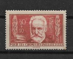 FRANCE  -  Yvert   N° 332 **  VICTOR HUGO - France