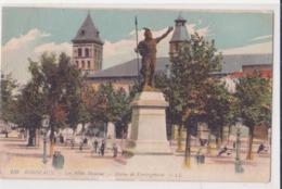 CPA -  138 - BORDEAUX - LES ALLEES DAMOURS - STATUE  DE VERCINGETORIX - Bordeaux