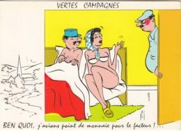 """ALLEXANDRE  """" VERTES CAMPAGNES  - Ben Quoi,j'avions Point De Monnaie Pour Le Facteur """" - Alexandre"""