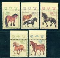 Germany 1997 Horse Breeds,Pferde,Caballos,Chevaux,Cavallo,Pony,Mi.1920,MN - Farm