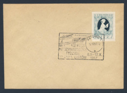 Poland Polska Polen 1957 Brief Cover – Int. Briefwoche / Int Letter Writing Week - 6.X-12.X 1957, Katowice - Other